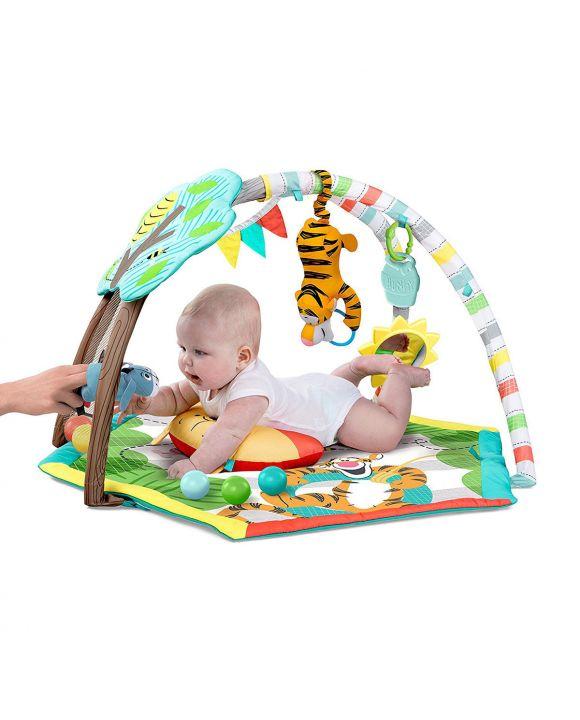 Campingbedje Winnie De Pooh.Baby Budget Speelkleed Bright Starts Disney Winnie The Pooh
