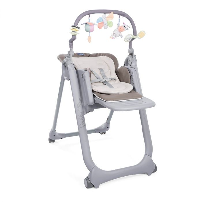 Baby In Kinderstoel.Kinderstoel Chicco Polly Magic Relax Cocoa